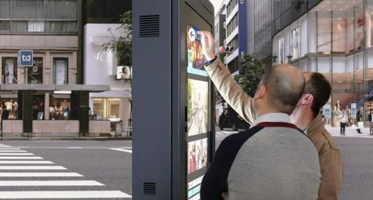 Interactividade Touchscreen