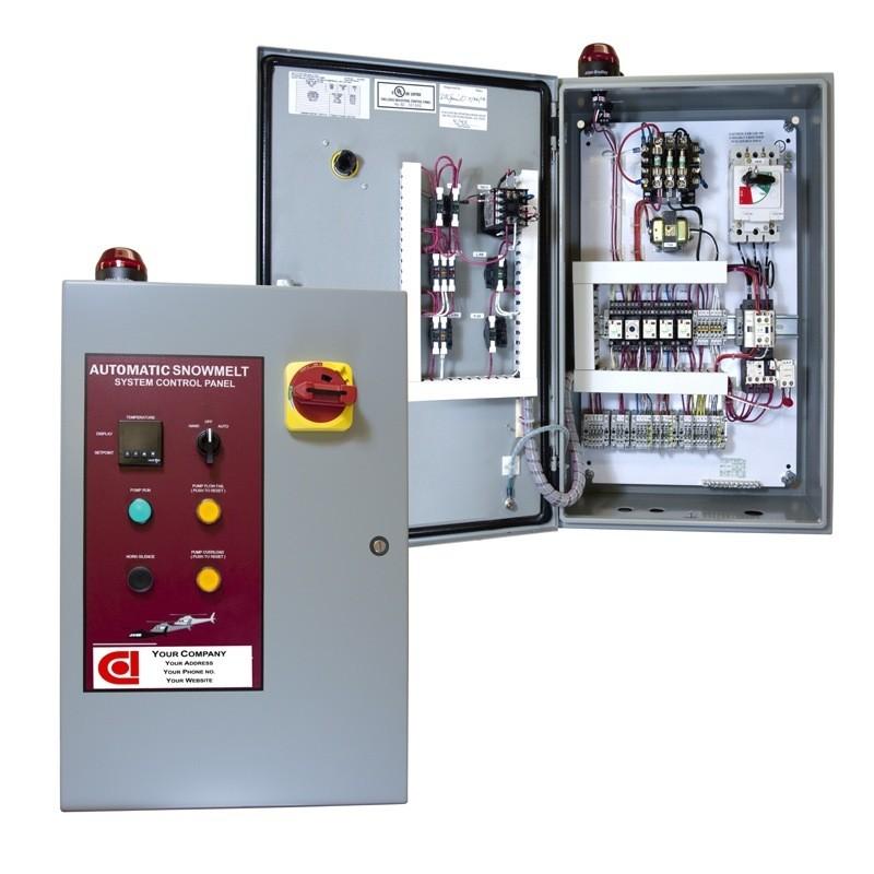 Basic Hvac Electric Wiring Heat Exchanger Control Panel Example Oem Panels
