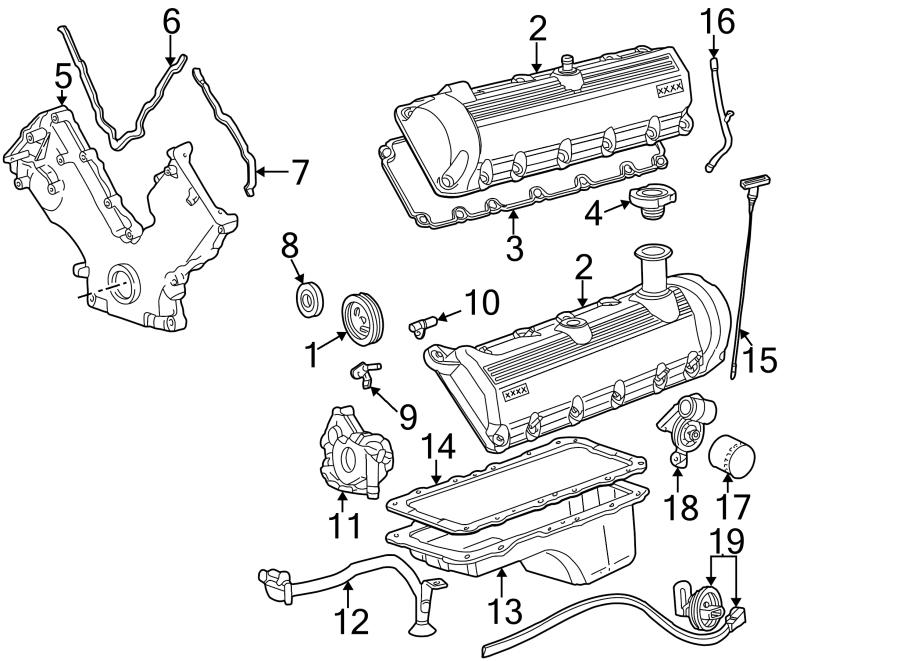 2006 Ford E-150 Engine Camshaft Position Sensor