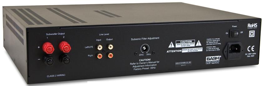 23 Watt Low Audio Power Amplifier