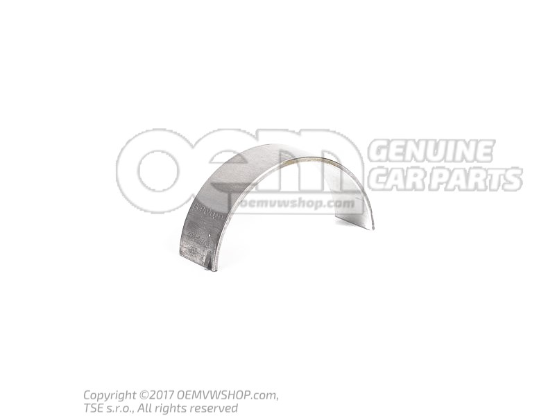 Connecting rod bearing shell yellow 078105701G 007