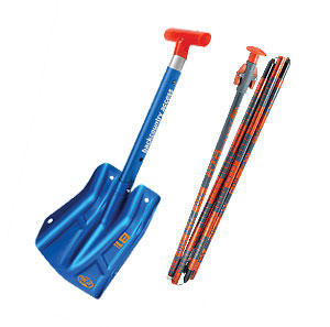 Avalanche shovel and probe Rental