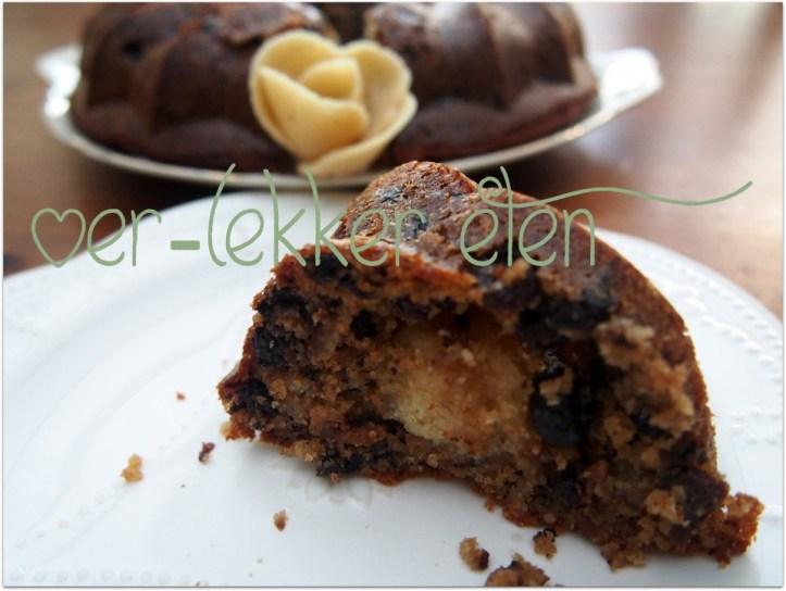 Kerststol cake