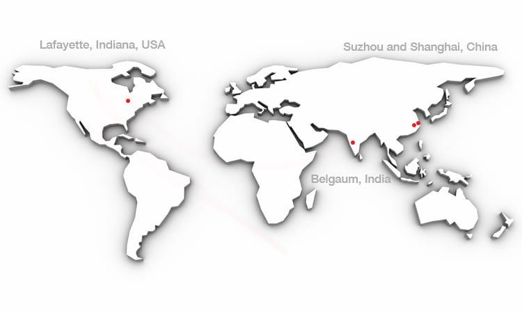 Worldwide Locations « Oerlikon Fairfield