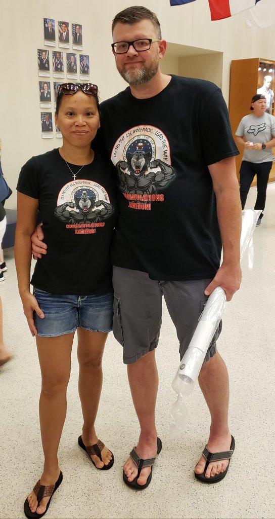 log on t-shirt