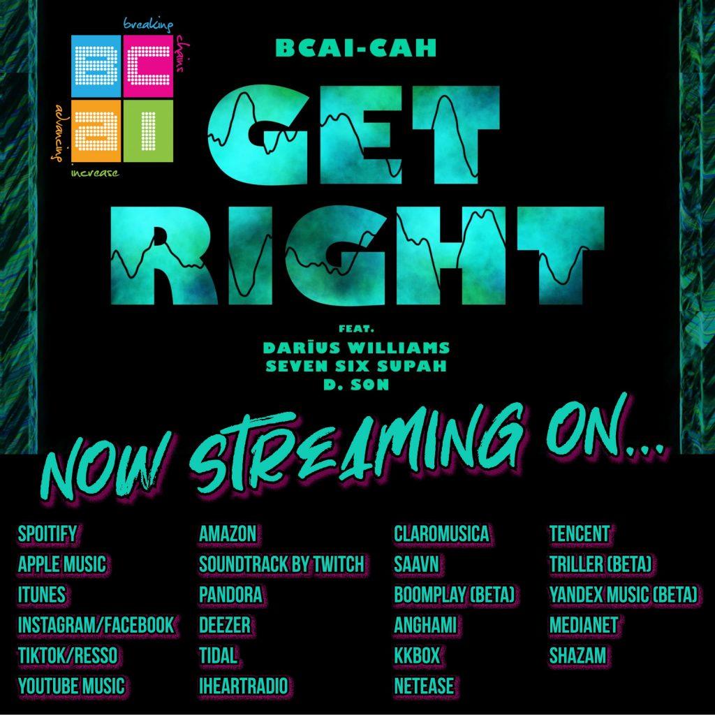 Get Right original track by BCAI