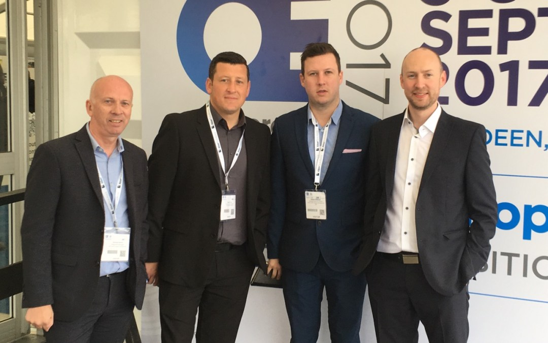 Team OES attends Offshore Europe 2017 in Aberdeen