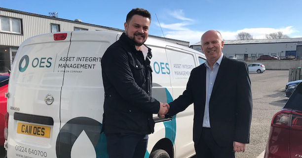 OES Announce Appointment of James Griffin