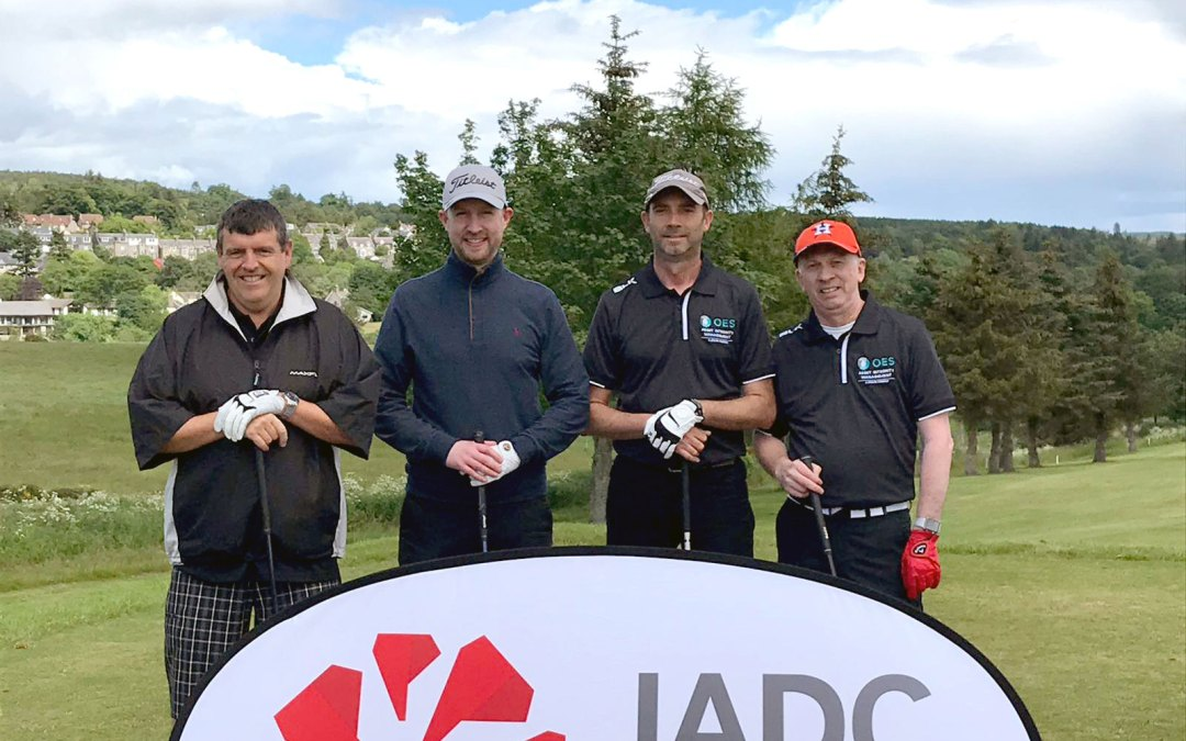 OES takes part in IADC North Sea Chapter Golf Tournament