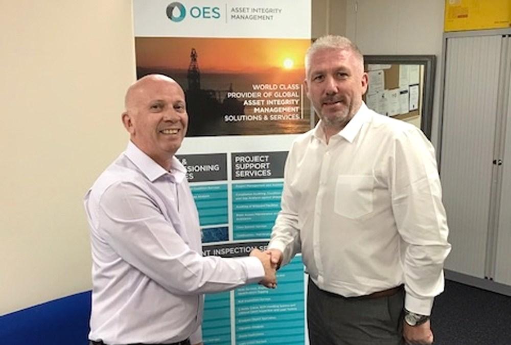 OES Announce Appointment of Andy Eagar in Aberdeen