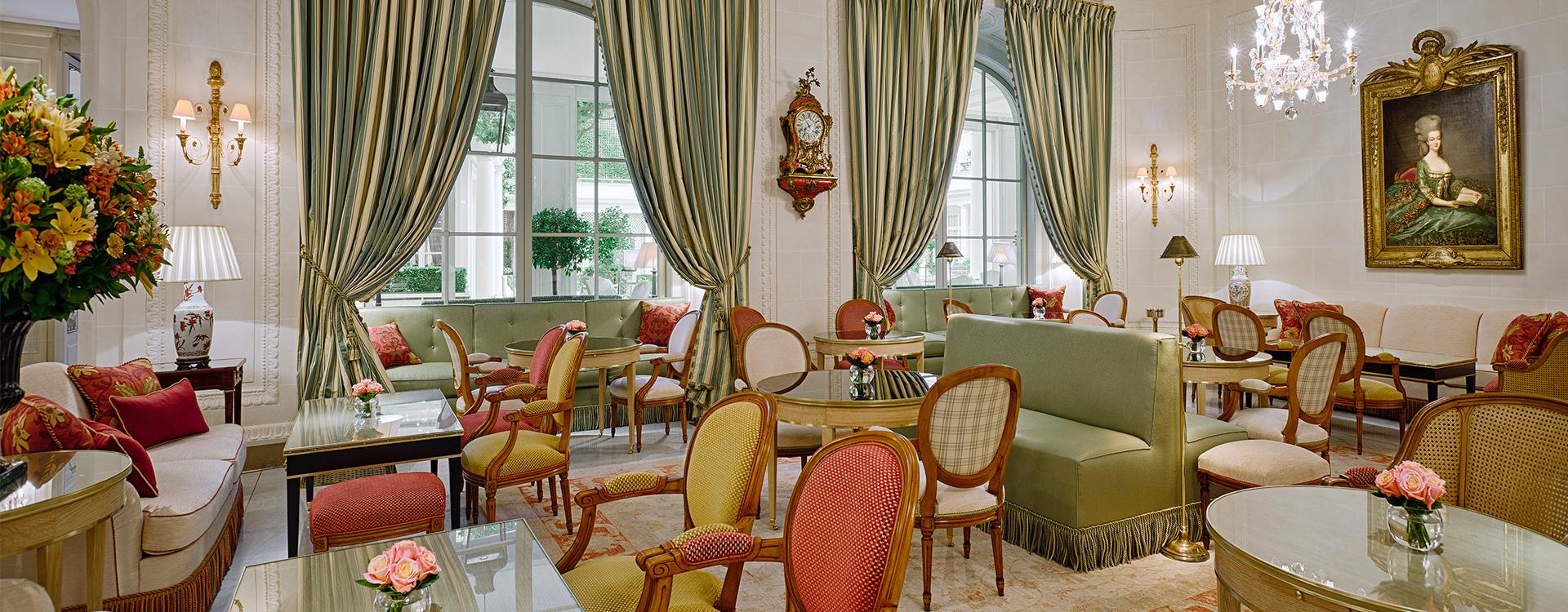 Caf 233 Antonia Restaurant In Paris Le Bristol