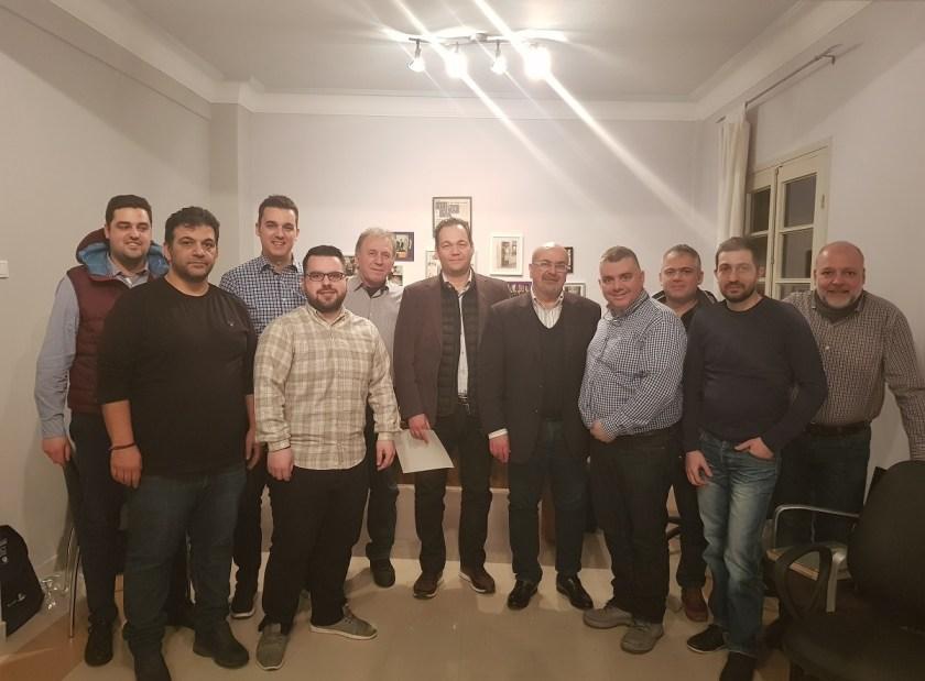 Κοινή συνεδρίαση  πραγματοποίησαν στη Θεσσαλονίκη το Δ.Σ. της Συντεχνίας Καταστηματαρχών Ζαχαροπλαστών Θεσσαλονίκης με το Δ.Σ. του Συλλόγου Ζαχαροπλαστών & Καταστηματαρχών Βεροίας.