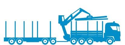 Truck and log trucks