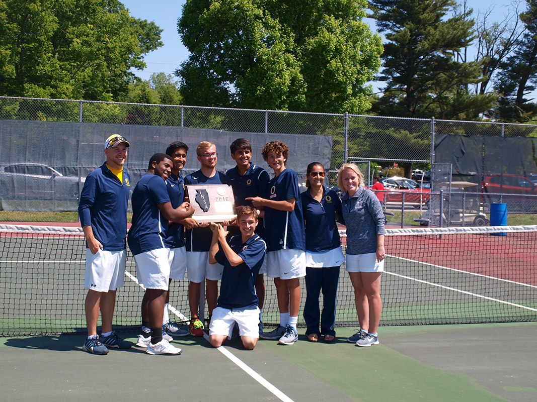 sofa sport tennis condo size with chaise oths wins fourth straight sectional title o