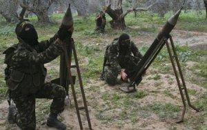 Rampe per razzi a Gaza