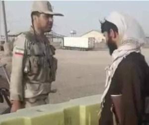 Militari di Teheran e Talebani a colloquio sui confini (Fonte Twitter)