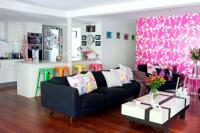 Neon colors in the living room | Interior Design Ideas ...