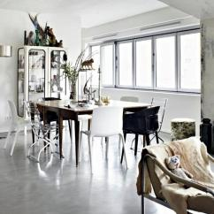 White Plastic Dining Chairs Rooms To Go Swivel Chair Modern Shabby Chic | Interior Design Ideas - Ofdesign