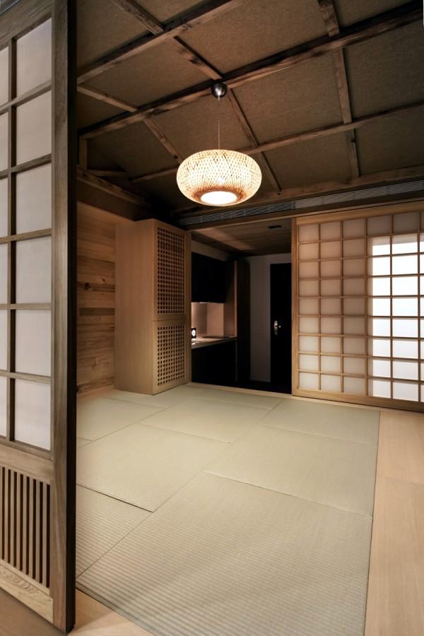 Modern minimalist interior design  Japanese style