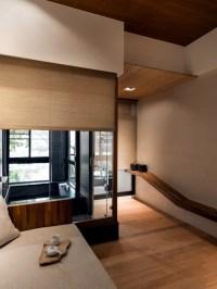 Modern minimalist interior design  Japanese style ...