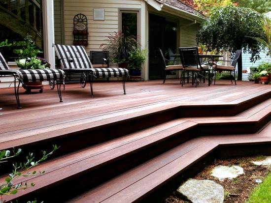 Bangkirai Wood Terrace – 20 Great Ideas For Garden Design