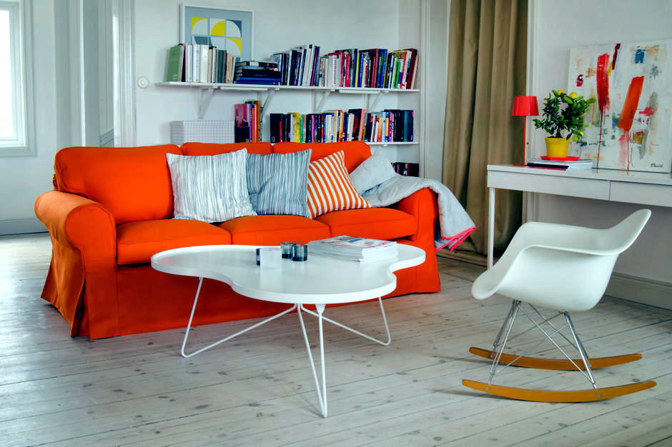 orange couch living room ideas best paint colors for in nigeria sofa the interior design ofdesign