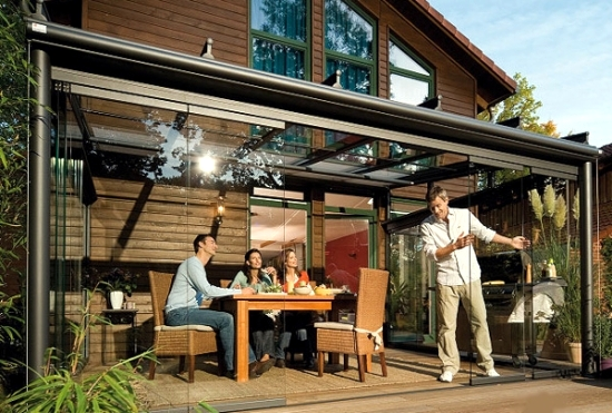 glass roof terrace for the benefits of a glass canopy 3 255 - THE MOST AMAZING ROOF TOP GLASS HOUSE IDEAS AND PICTURES