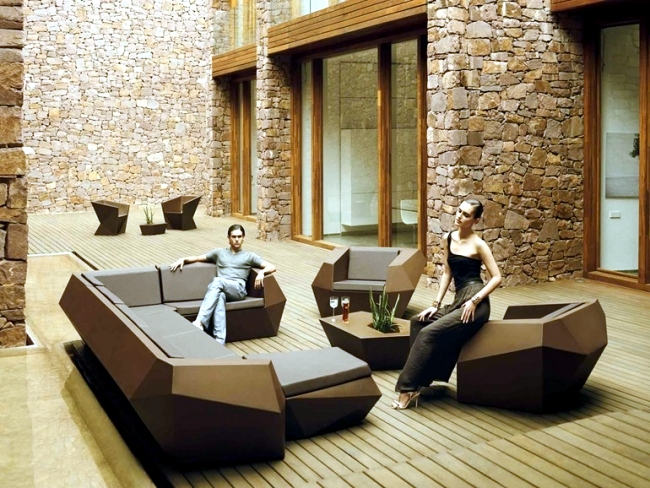 modern sofa set designs for living room tv wall units 55 ideas garden furniture – creating and outdoor ...