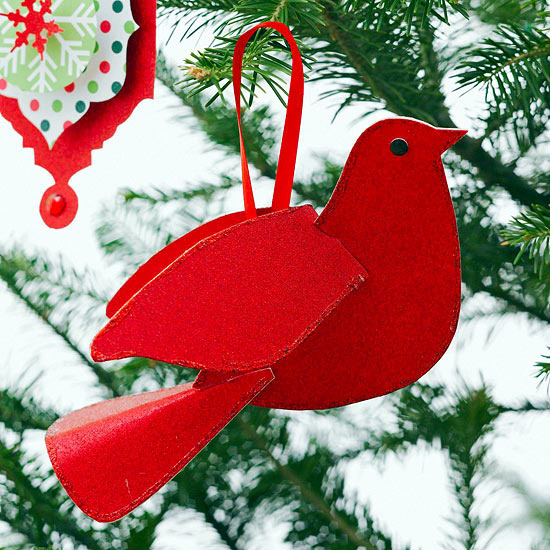 Homemade Paper Christmas Decorations