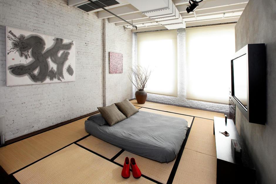 Room with minimalist Japanese influences  Interior Design Ideas  Ofdesign