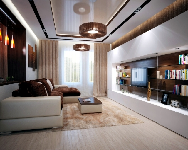 interior design ideas for living rooms modern room sectional furniture sets brown is