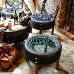 Bungee Cord Chair Diy Truck Tailgate 100 Furniture From Car Tires Tire Recycling Do It Yourself With Screws And Wood As Components
