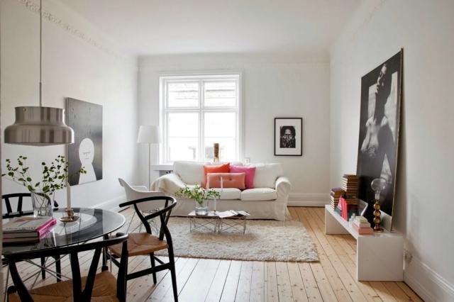 25 Home Deco Ideas A Living Room In Scandinavian Style Interior Design Ideas Ofdesign