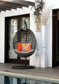 Modern hanging chairs designs for garden patio and relax ...