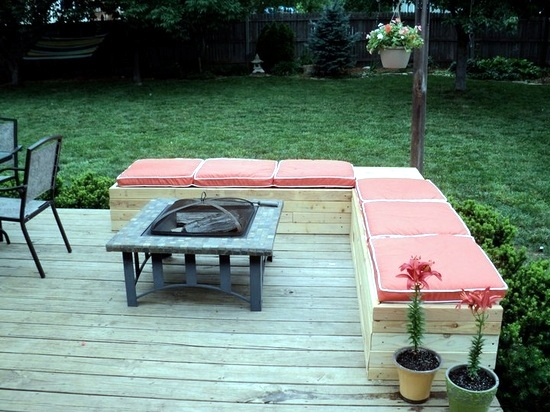 diy sofa from pallets thomasville queen anne table garden furniture diy-20 creative designs for terrace ...
