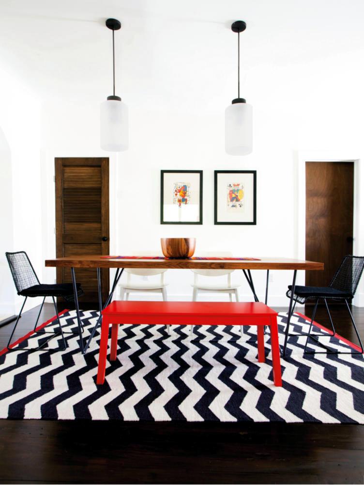 Loosen furniture with colorful accessories   Interior Design Ideas - Ofdesign