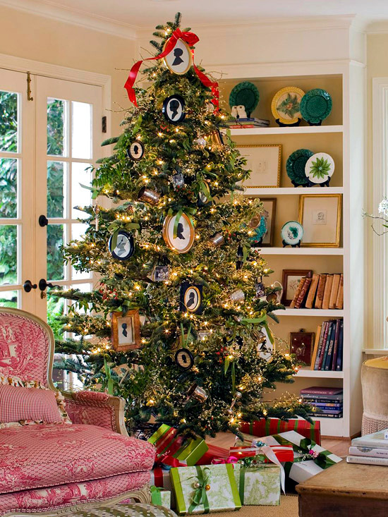 Christmas tree decoration  20 different styles and decorating ideas  Interior Design Ideas