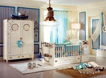 Elegant design of the nursery – child care for your luxury ...