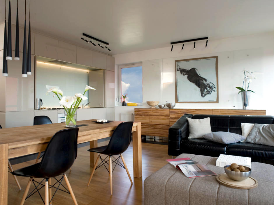 Black Eames Chairs  Interior Design Ideas  Ofdesign