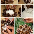 Christmas tree decorations made from natural materials 20 ideas to