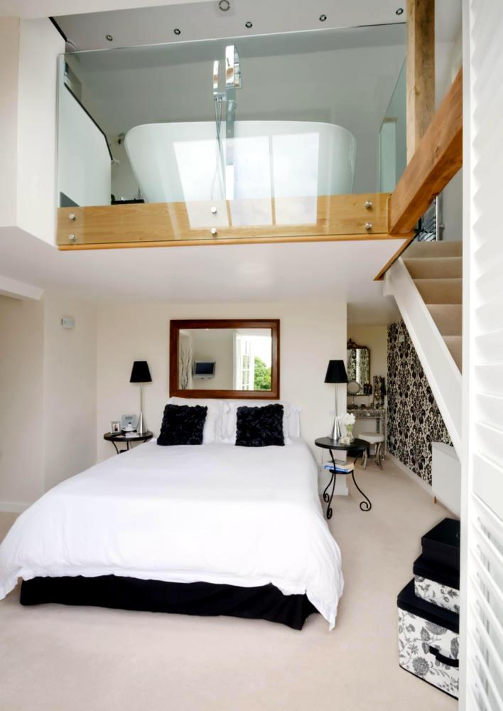 Bedroom And Bathroom Duplex Interior Design Ideas Ofdesign