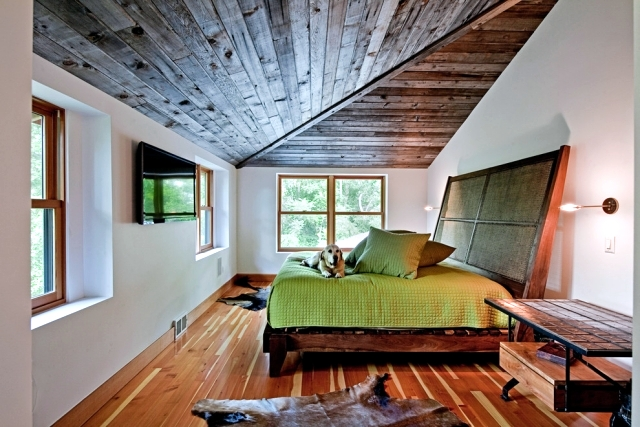 Design rooms with a sloping roof  Interior Design Ideas  Ofdesign