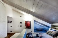 Design rooms with a sloping roof!