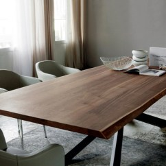 Modern Kitchen Table Spring Faucet Dining Design By Cattelan Italia Steel Base And Hardwood
