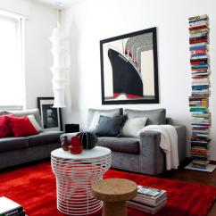 Muuto Sofa Bed Westwood Duck Cloth Cover Red Carpet In The Living Room | Interior Design Ideas ...