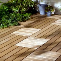 Wood tiles balcony  why wood flooring is bang on trend ...