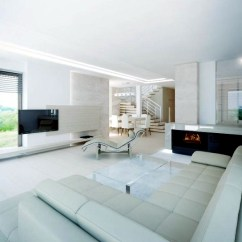 How Much To Carpet A Living Room Pure White Minimalist – 20 Modern Design Ideas ...
