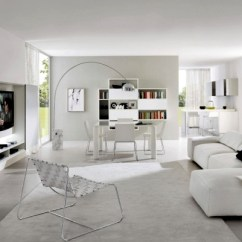 White Modern Living Room Bar Tables Pure Minimalist 20 Design Ideas For Home