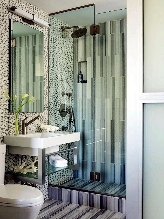 Ideas for bathroom tiles, variety of designs and tips for ...
