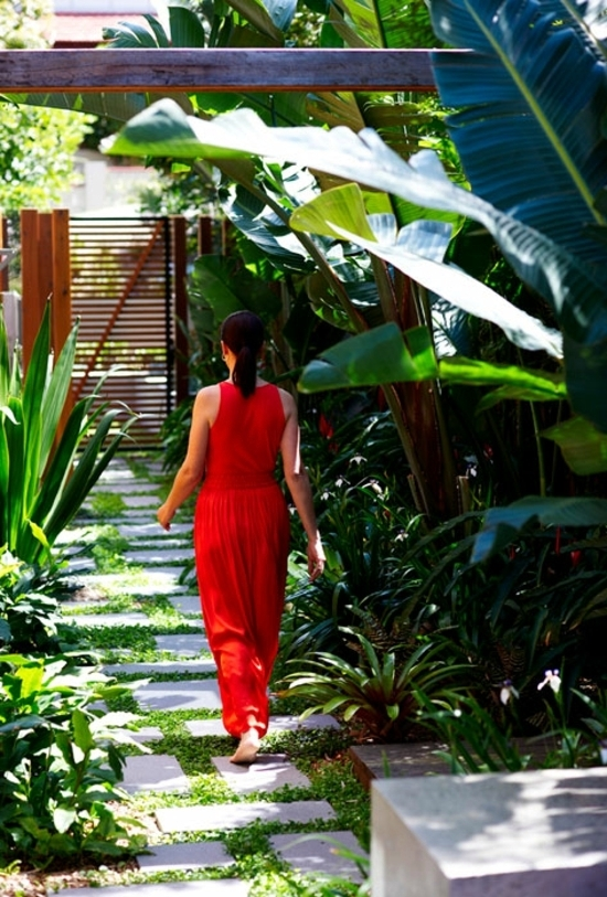 Landscaping Ideas – The Secret Tropical Oasis Attracts Sydney